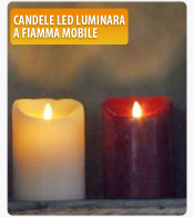 Candele LED Luminara a fiamma mobile