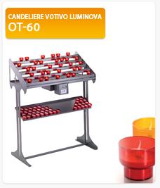 Candeliere votivo Luminova OT-60