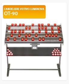 Candeliere votivo Luminova OT-90